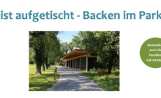 Backen im Park